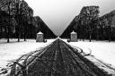 Neige à Versailles