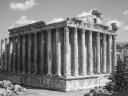 10 - Liban - Balbeck  podium du temple de Jupiter 1er Sav JC