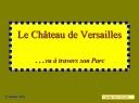 Sortie Château de Versailles